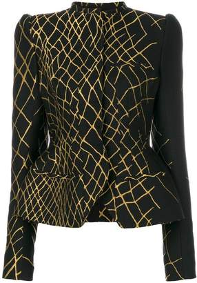 Haider Ackermann hourglass fitted jacket