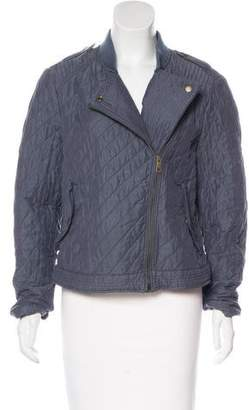 Burberry Quilted Asymmetrical Jacket
