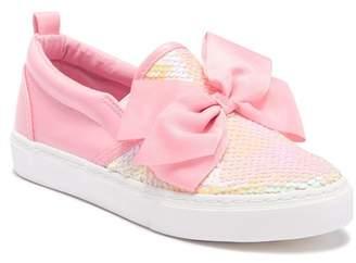 Jo-Jo JoJo Siwa Sequin & Bow Slip-On Sneaker (Little Kid & Big Kid)