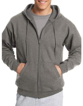 Hanes Big Men's EcoSmart Fleece Zip Pullover Hoodie with Front Pocket