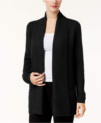 Karen Scott Marled Open-Front Cardigan, Created for Macy's