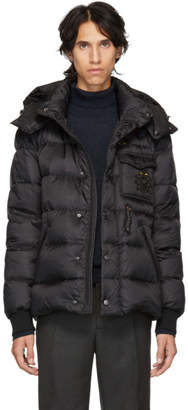 Fendi Black Down Super Bugs Puffer Jacket