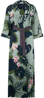 Violet And Wren Longline Kimono in The Botanist