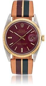 Rolex La Californienne Women's 1977 Oyster Perpetual Datejust Watch-Wine