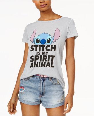 Disney Juniors' Stitch Spirit Animal Graphic T-Shirt $24 thestylecure.com