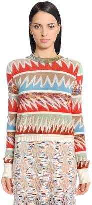 Missoni Wool Blend Jacquard Sweater