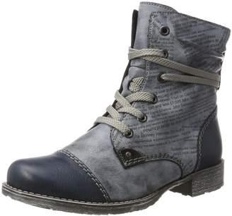Rieker Women Ankle Boots blue, 70822-15