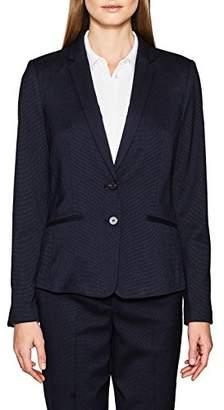 Esprit Women's 107eo1g025 Blazer, Blue (Navy 0)