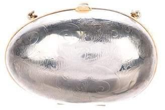 Judith Leiber Textured Chain-Link Bag