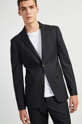 French Connenction Micro Dogtooth Stretch Jacket