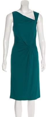 Michael Kors Twist Knot Midi Dress