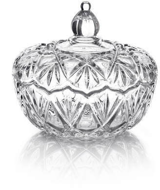 Mikasa Glass Covered Candy Dish