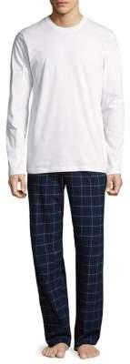 Calvin Klein Two-Piece Pajama Set