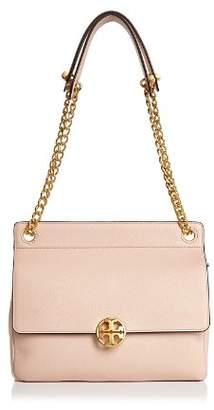 Tory Burch Chelsea Flap Convertible Leather Shoulder Bag