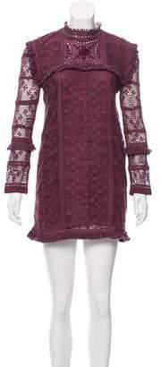 LoveShackFancy Lace Mini Dress w/ Tags