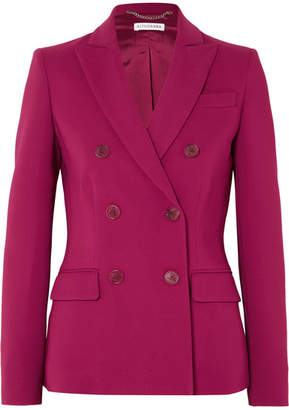 Altuzarra Indiana Double-breasted Cady Blazer - Plum