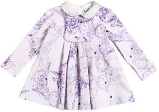 Versace Ladybug & Ivy Cotton Sweatshirt Dress