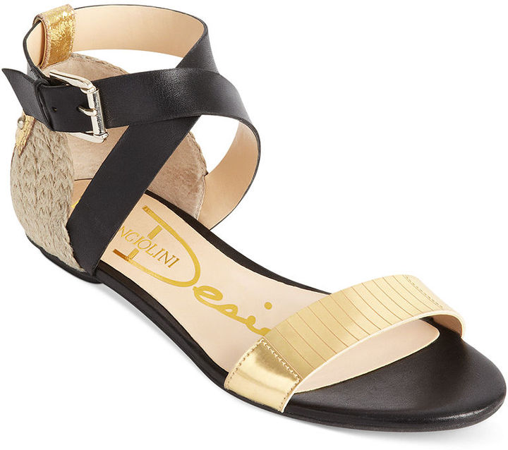 Enzo Angiolini Shoes, Kahny Demi Wedge Sandals 3