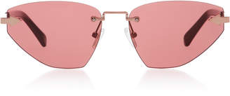 Karen Walker Sweet Cat Cat-Eye Sunglasses