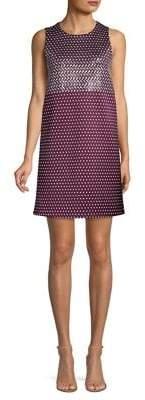 MICHAEL Michael Kors Geo Mix Sleeveless Shift Dress