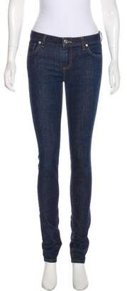 Lacoste Mid-Rise Skinny Jeans