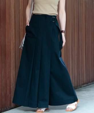 Beauty&youth United Arrows (ビューティー アンド ユース ユナイテッド アローズ) - BEAUTY&YOUTH UNITED ARROWS BY∴ チノベルトマキシスカート 2 -手洗い可能-
