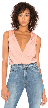 BCBGeneration Pleated Surplice Top