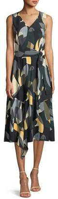 Lafayette 148 New York Telson Ornamental Mosaic Dress