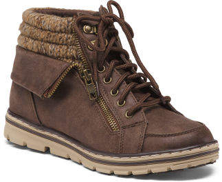Lace Up Hiking Boots