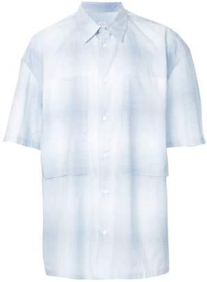 E. Tautz oversized chest pocket shirt