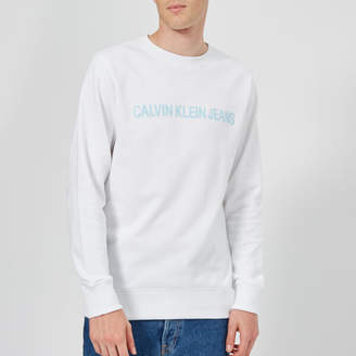 Calvin Klein Jeans Men's Institutional Logo Sweatshirt