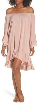 Elan International Off the Shoulder Cover-Up Dress
