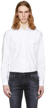 Belstaff White Steadway Shirt