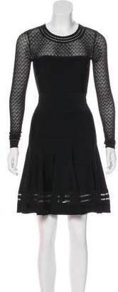 Diane von Furstenberg Long Sleeve Knee-Length Dress w/ Tags