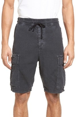 Men's Vince Drop Crotch Linen Blend Cargo Shorts $225 thestylecure.com