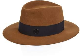 COM Maison Michel André rabbit-fur felt hat