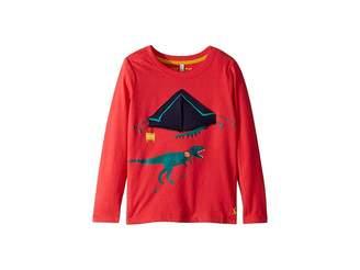 Joules Kids Applique Jersey Top (Toddler/Little Kids)
