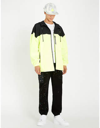 Off-White Colour-blocked shell jacket