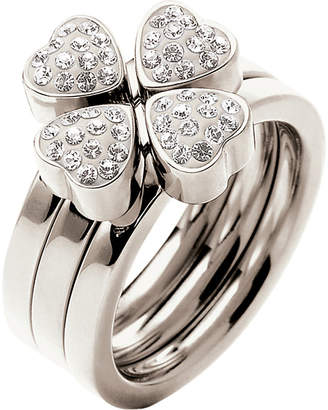 Folli Follie Heart4heart multiwear crystal ring