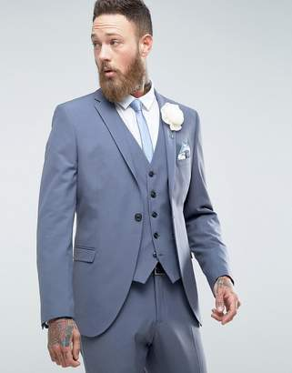 Selected Slim Wedding Suit Jacket With Stretch
