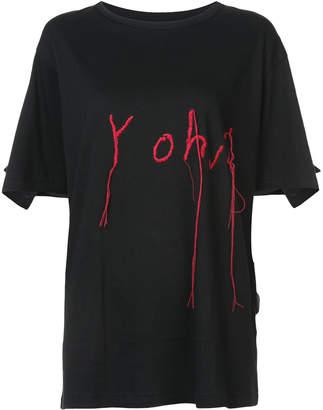 Yohji Yamamoto embroidered T-shirt