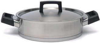 Berghoff Ron Stainless Steel Deep Skillet - 24cm