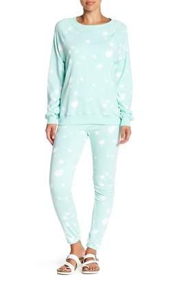 Wildfox Couture Paint Splatter Knox Sweatpants