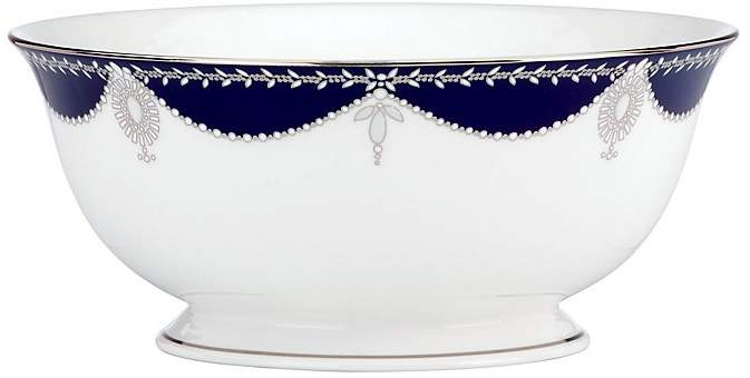 Marchesa by Lenox Empire Pearl Serving Bowl, 8.5""