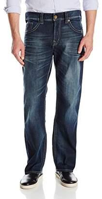 Silver Jeans Co. Men's Gordie Loose Fit Straight Leg Jeans