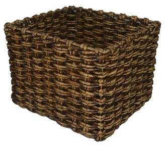 "Threshold Chunky Twisted Square Basket 11.25""x14"