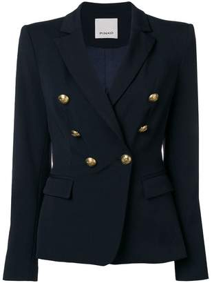 Pinko embellished buttons fitted blazer