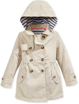 Oshkosh B'Gosh Hooded Fit & Flare Trench Coat, Little Girls (2-6X) $48 thestylecure.com