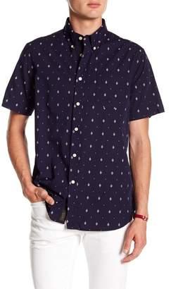 Jachs Print Short Sleeve Classic Fit Shirt