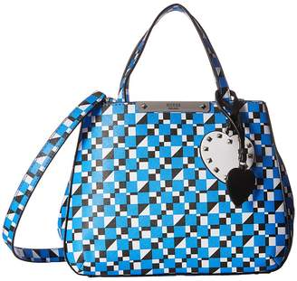 GUESS Britta Small Society Satchel Satchel Handbags
